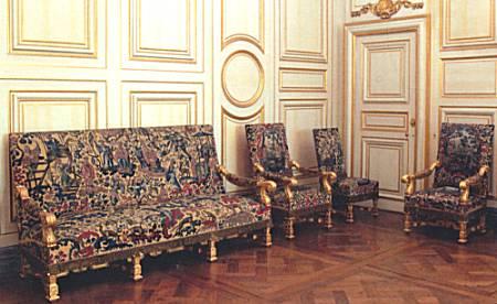 un mobilier chinois chez mme de maintenon. Black Bedroom Furniture Sets. Home Design Ideas